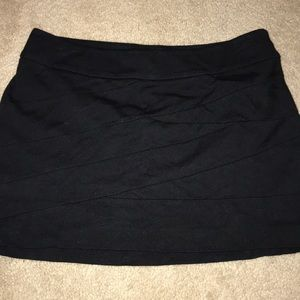 Express skirt with side zip